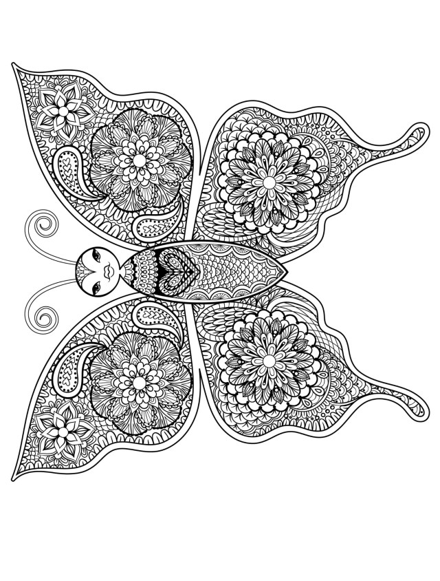 Free Butterfly Coloring Pages Butterfly Coloring Pages For Toddlers New 23 Free Printable Insect