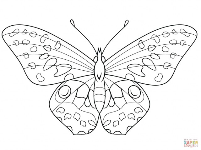 Free Butterfly Coloring Pages Coloring Page Butterfly Coloring Page Free Printable Pages 41