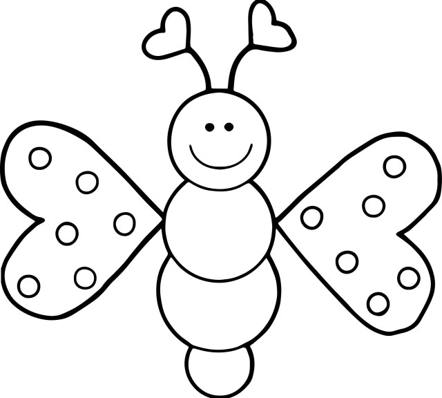 Free Butterfly Coloring Pages Free Butterfly Coloring Page Best Butterflies Coloring Pages Fresh