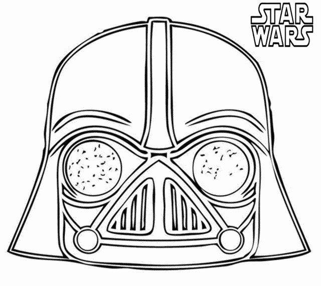 Free Star Wars Coloring Pages Angry Birds Star Wars Coloring Pages Darth Vader Color Elegant Free