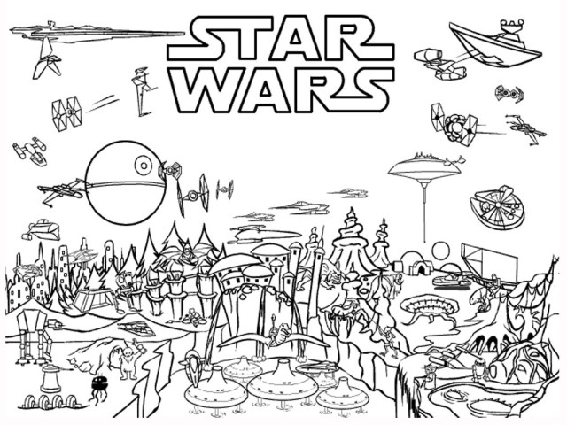 Free Star Wars Coloring Pages Star Wars Coloring Pages Homeschool Library Of Links