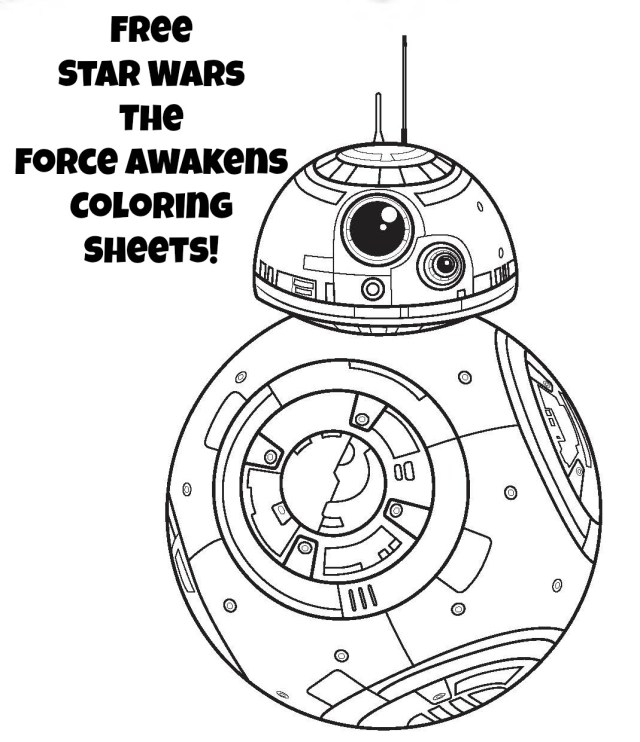 Free Star Wars Coloring Pages Star Wars Coloring Pages The Force Awakens And Free Wpvote