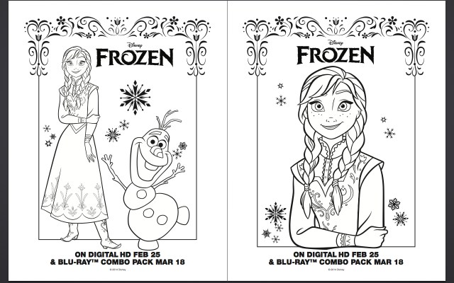 Frozen Elsa Coloring Pages Printable Anna And Elsa Coloring Pages Only Coloring Pages