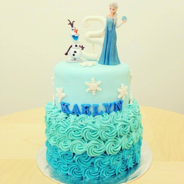 Frozen Themed Birthday Cake 18 Frozen Themed Birthday Cakes Which Can Be Customized Recommend
