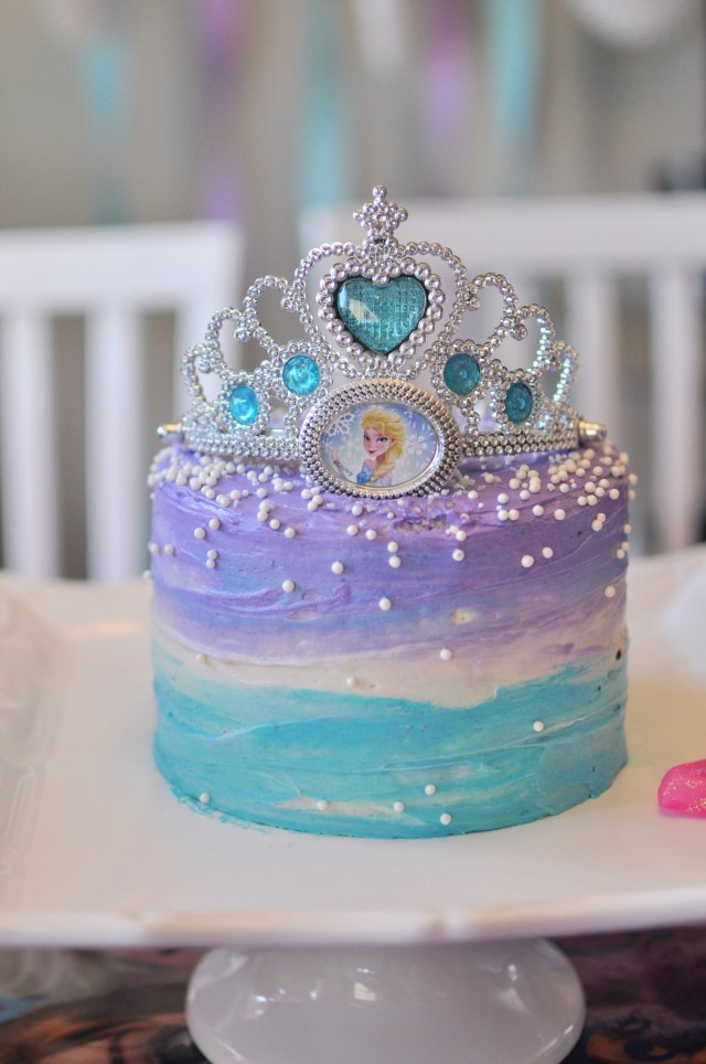 Frozen Themed Birthday Cake Fiesta De Cumpleaos Frozen 101 Ideas Originales Party