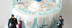 Frozen Themed Birthday Cake Frozen Birthday Cake Google Search Ba Ives Pinte