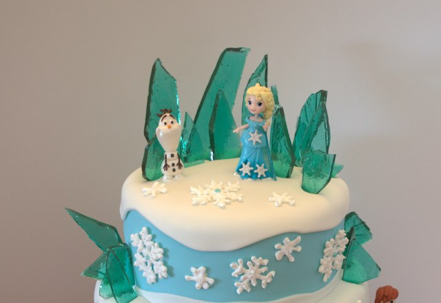 Frozen Themed Birthday Cake Frozen Themed Birthday Cake A Little Of This And A Little Of That