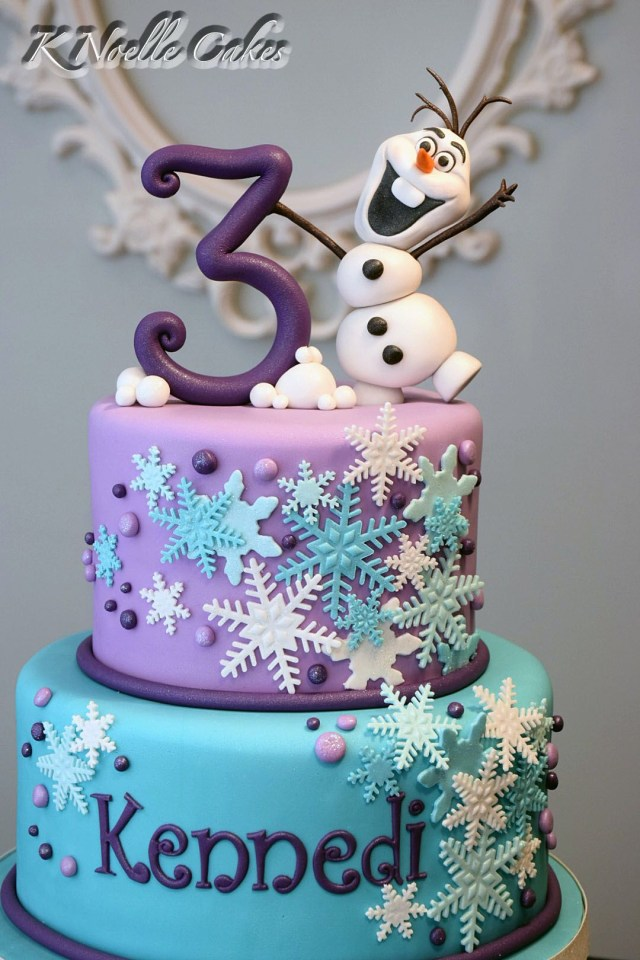 Frozen Themed Birthday Cake Le Gteau Reine Des Neiges 50 Ides Originales Archzinefr