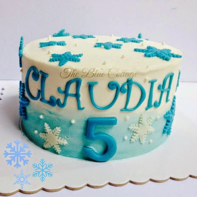Frozen Themed Birthday Cake The Blue Cottage Birthday Cake Frozen Themed Cake With Anna Elsa