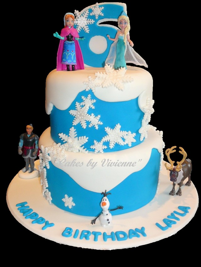 Frozen Themed Birthday Cakes Frozen Themed Birthday Cake For A 6 Year Old Cake Ideas Birthday