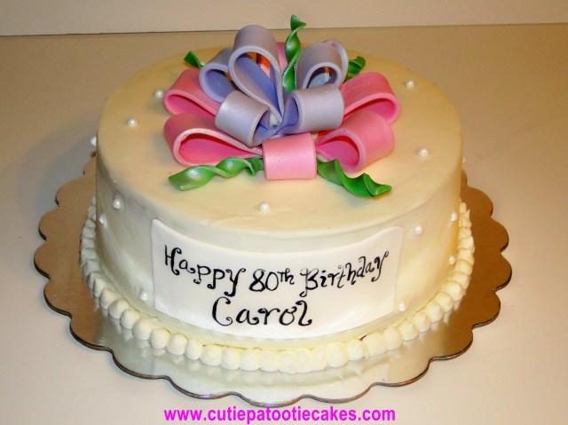 Happy Birthday Carol Cake Happy 80th Birthday Carol Cakes And Cupcakes Pinterest 80th