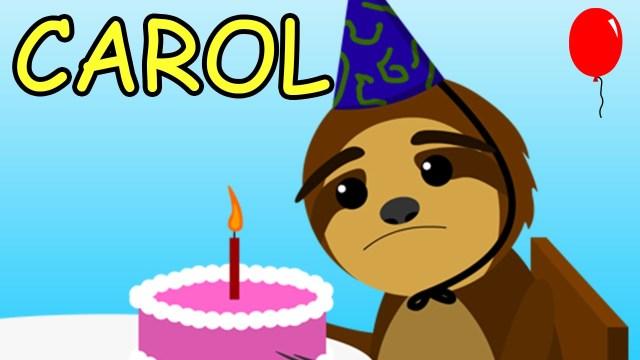 Happy Birthday Carol Cake Happy Birthday Carol Youtube
