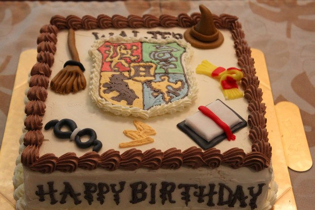 Harry Potter Birthday Cakes 9 Wizarding Birthday Cakes For Harry Potter Bookstr