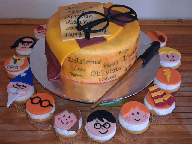 Harry Potter Birthday Cakes Harry Potter Birthday Cake Fomanda Gasa