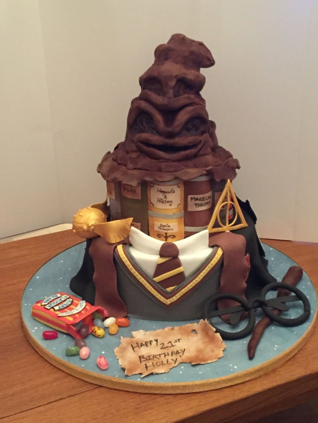 Harry Potter Birthday Cakes Harry Potter Cake Anlsse Harry Potter Cake Harry Potter