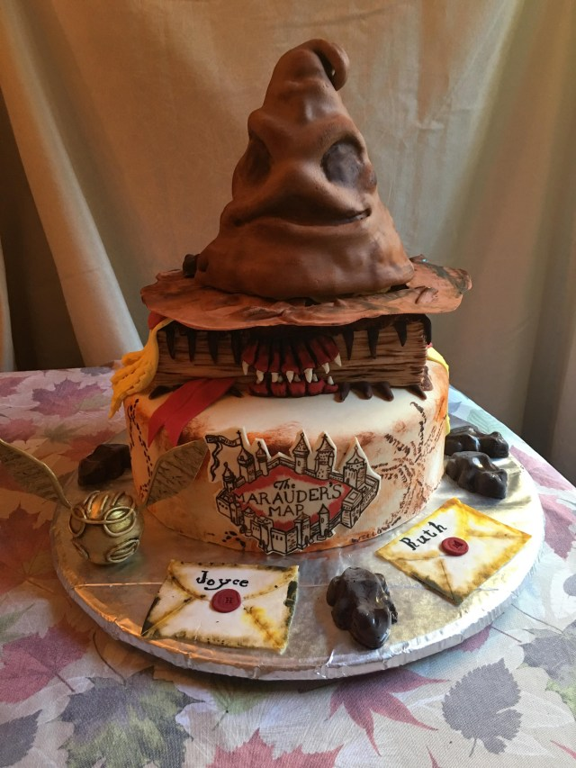 Harry Potter Birthday Cakes Homemade Harry Potter Birthday Cake With Butter Beer Cake And Icing