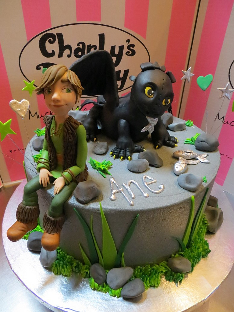 How To Train Your Dragon Birthday Cake Pet Themed