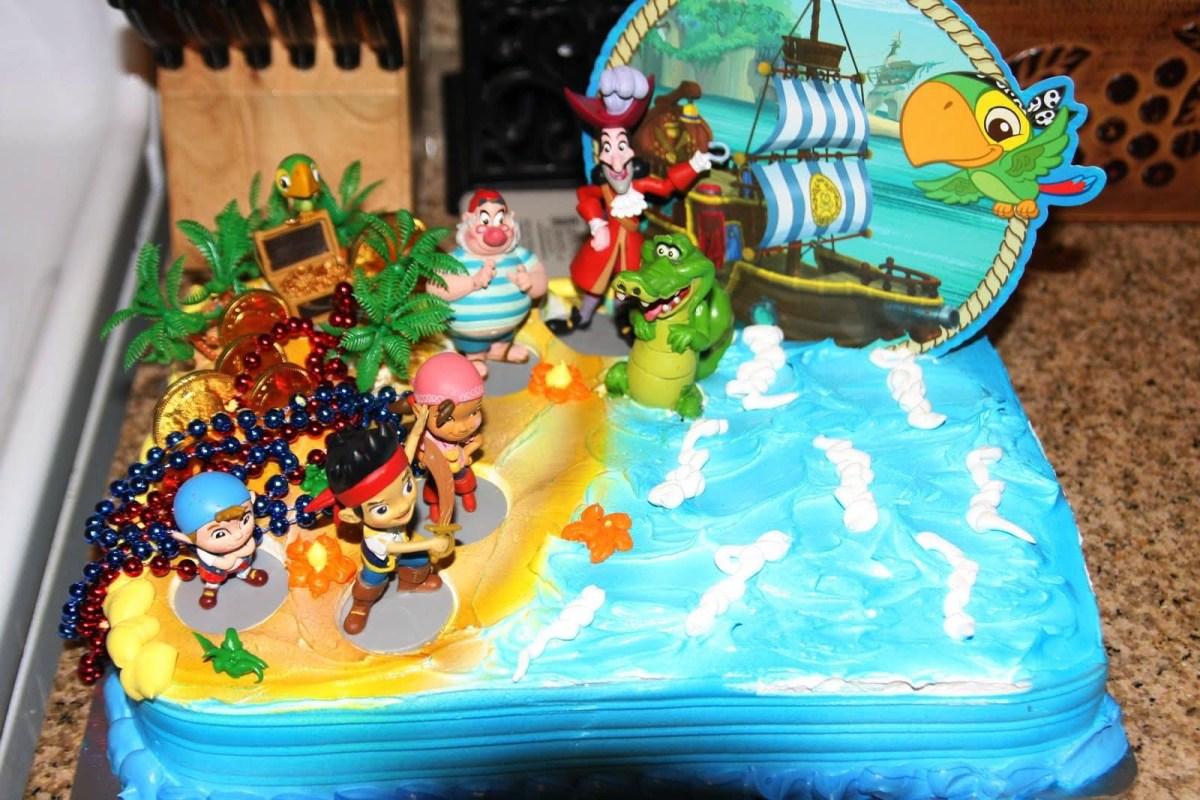Jake And The Neverland Pirates Birthday Cake Jake And The Neverland