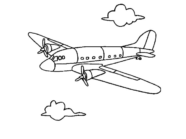 Jet Coloring Pages Free Printable Airplane Coloring Pages For Kids