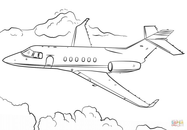 Jet Coloring Pages Jet Airplane Coloring Page Free Printable Coloring Pages