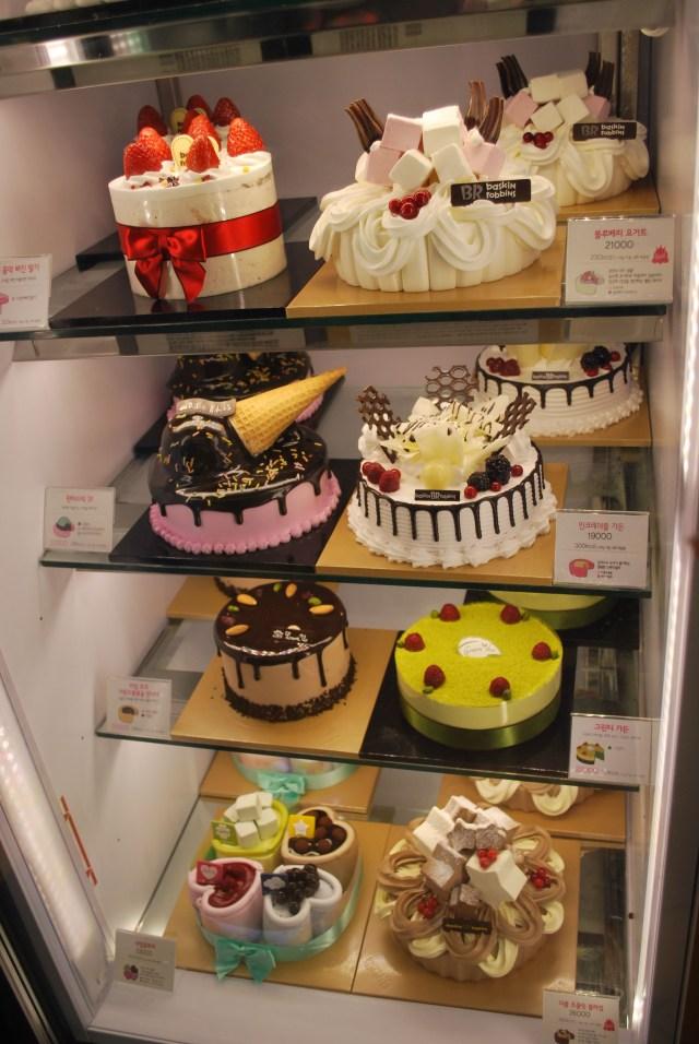 Korean Birthday Cake Korean Icecream Cakes Healthy Living Foodies Pinterest