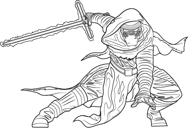 Kylo Ren Coloring Page Kylo Ren Coloring Pages Coloring Pages