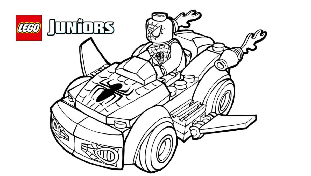57 Top Lego Spiderman Coloring Pages , Free HD Download