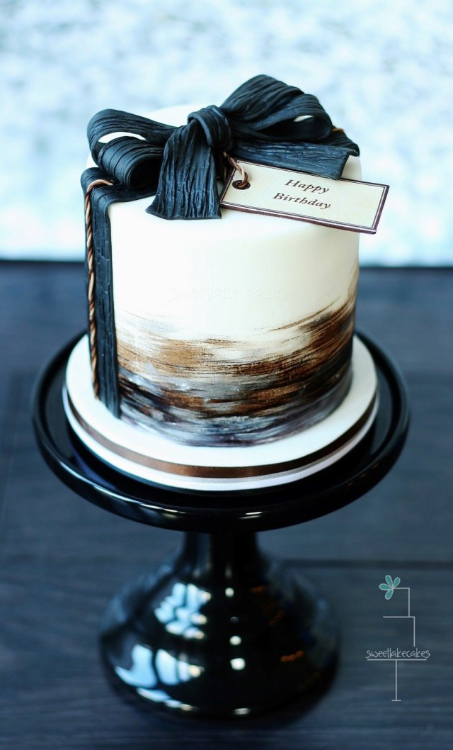 Masculine Birthday Cakes 8 Diy Thought