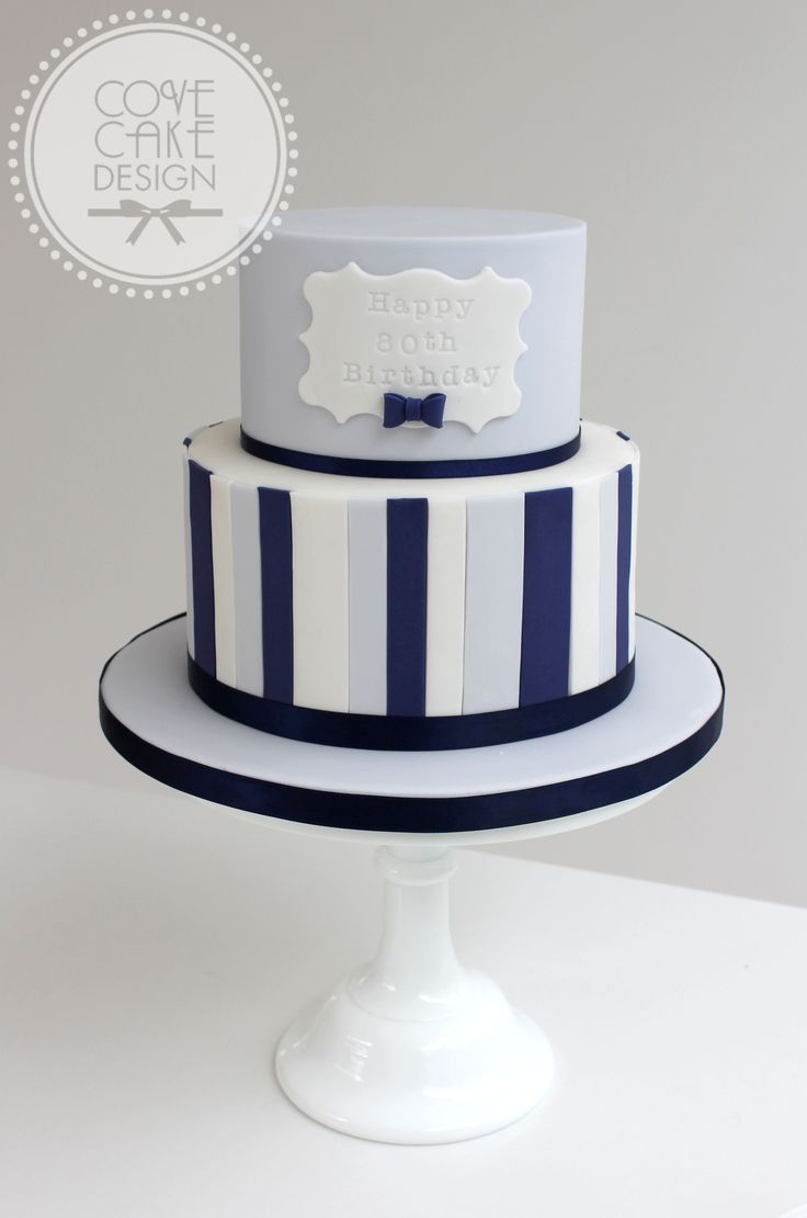 Masculine Birthday Cakes Male