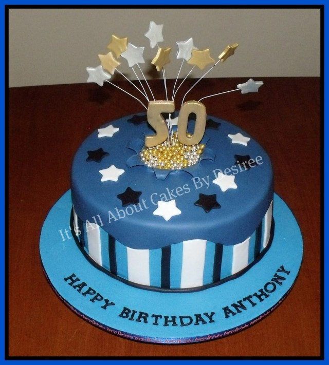 Masculine Birthday Cakes Mens Cake Ideas Photo