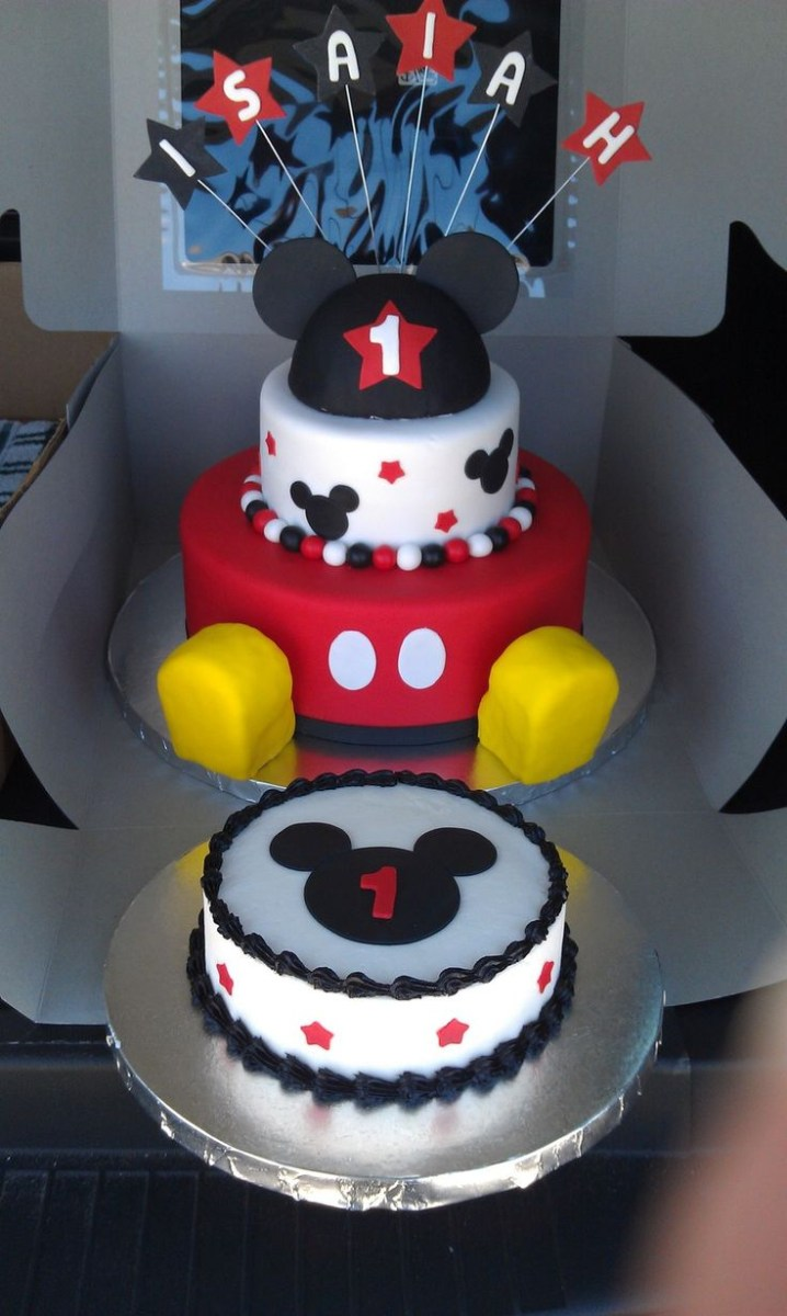 Mickey Mouse 1St Birthday Cake 11 First Cakes For Boys Photo