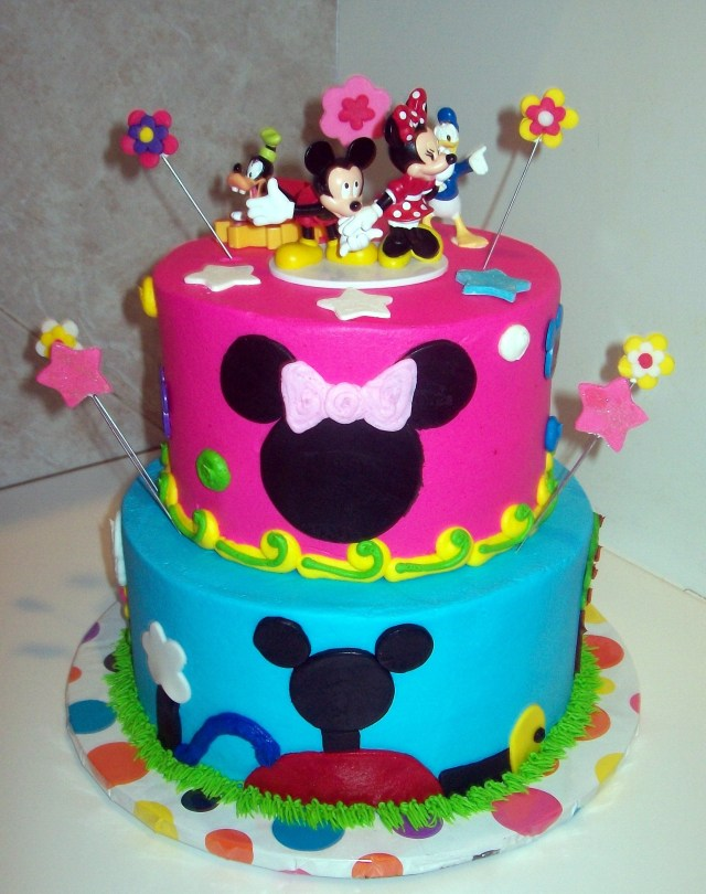Mickey Mouse Clubhouse Birthday Cake Image Detail For Mickey Mouse Clubhouse For A Girl Mommy File
