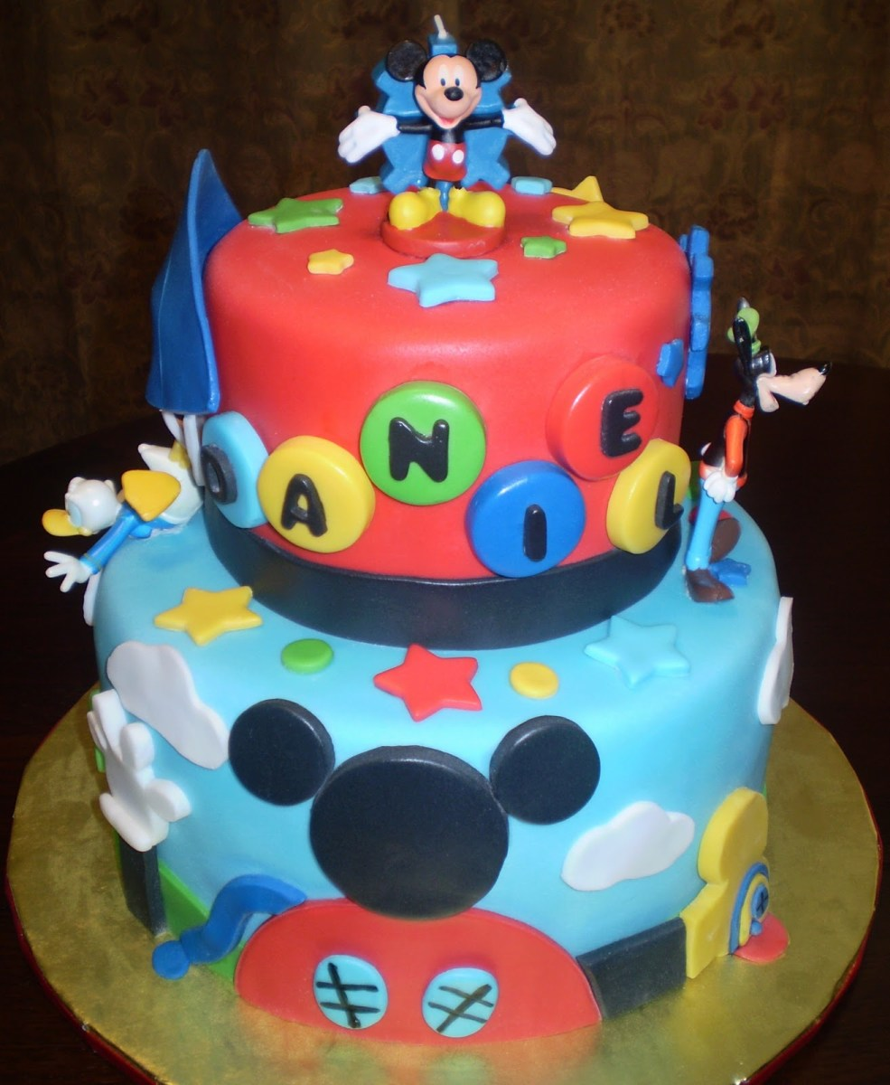 Mickey Mouse Clubhouse Birthday Cake Decoration Ideas Little Cakes