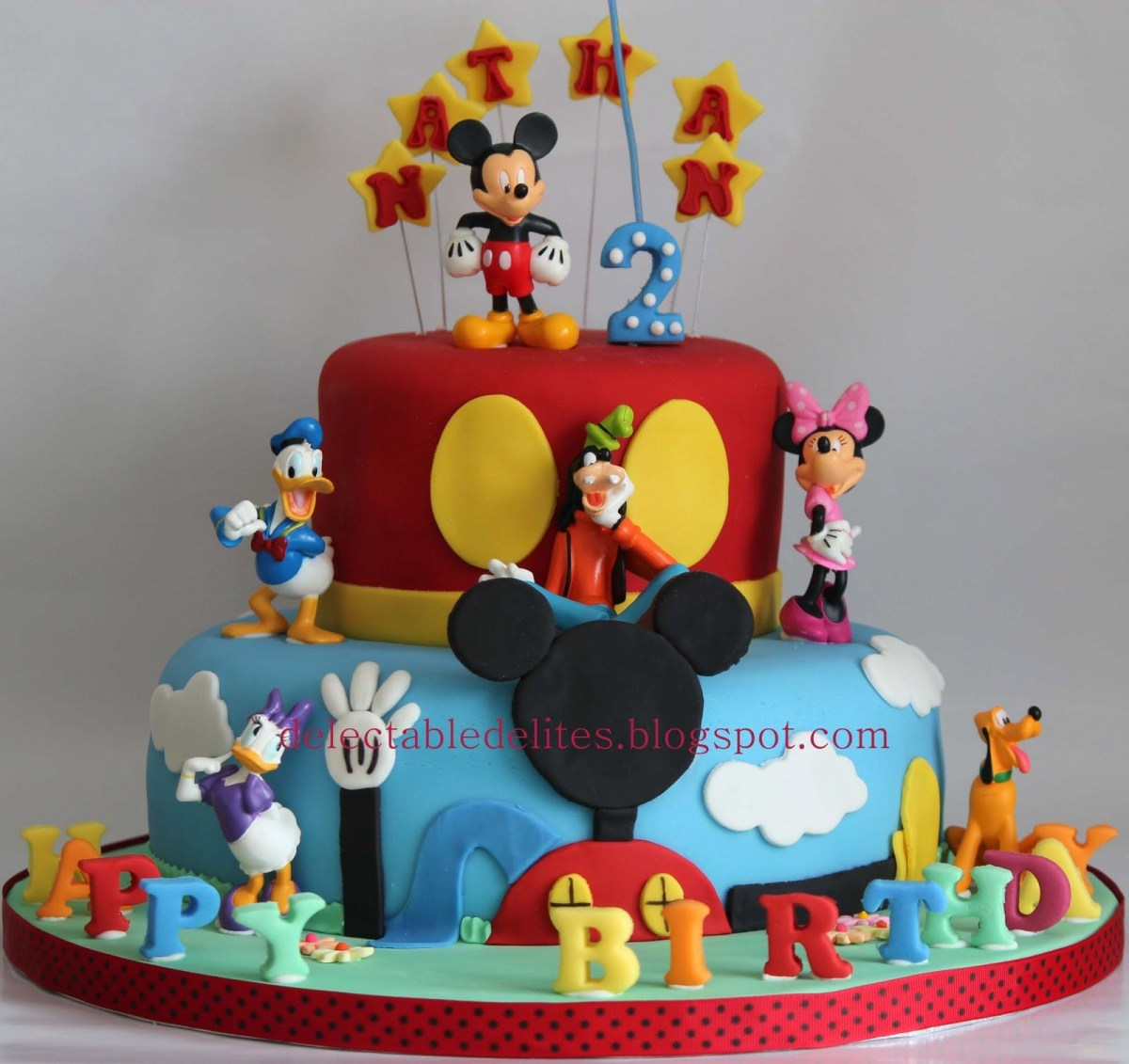 Mickey Mouse Clubhouse Birthday Cake Mickey Mouse Clubhouse Birthday Cake Mickey Mouse Birthday Party