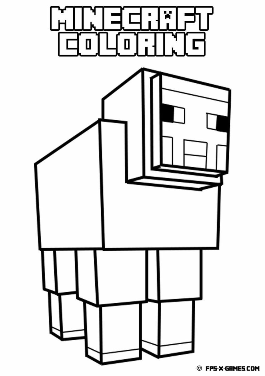 Mine Craft Coloring Pages Spider Coloring Pages Fresh Idea Minecraft Best Coloring Ideas