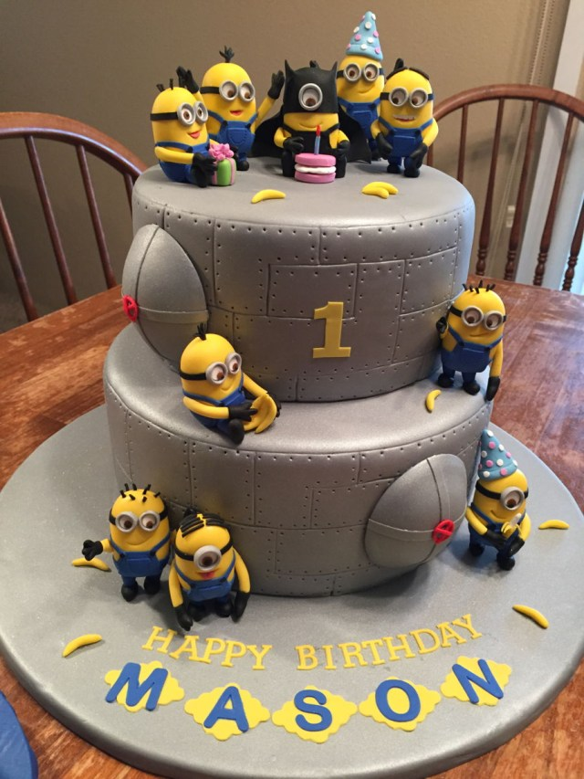 Minion Birthday Cake Minion Birthday Cake Cakecentral