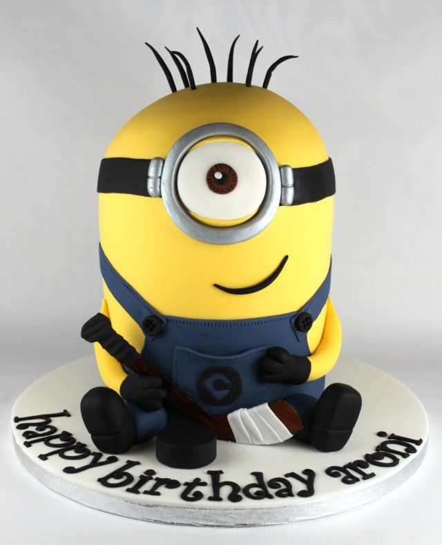 Minion Birthday Cake Minion Birthday Cake Lil Miss Cakes