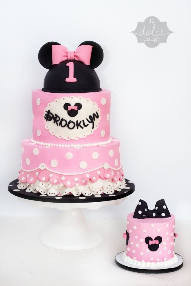 Minnie Mouse Cakes 1St Birthday Minnie Mouse 1st Birthday Cakecentral