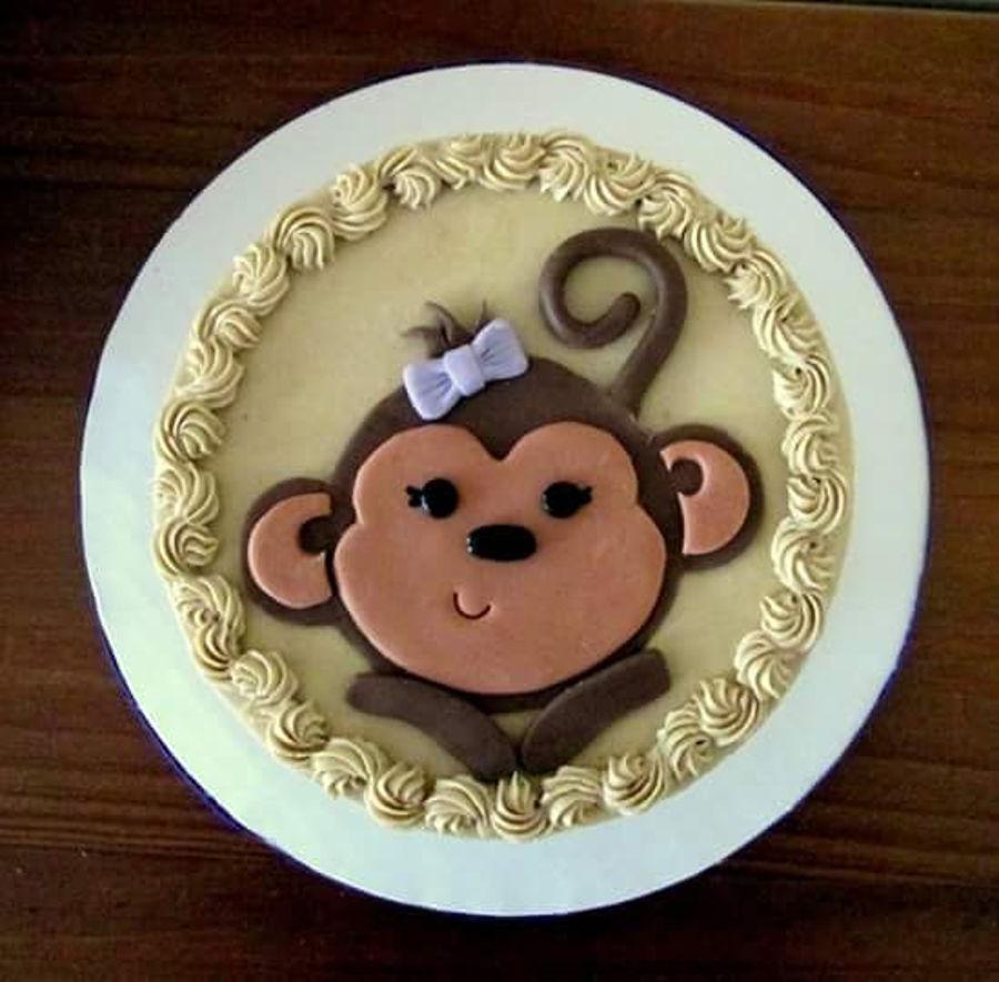 Monkey Birthday Cake Year Of The Monkey Birthday Cake Cakecentral