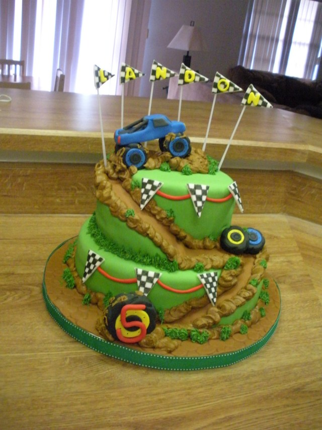 Monster Truck Birthday Cake Monster Truck Birthday Party Cakecentral