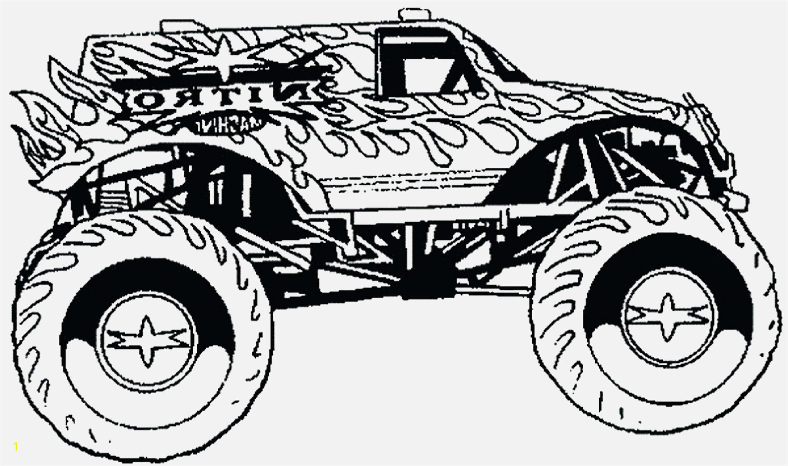 Monster trucks coloring pages monster truck coloring pages printable