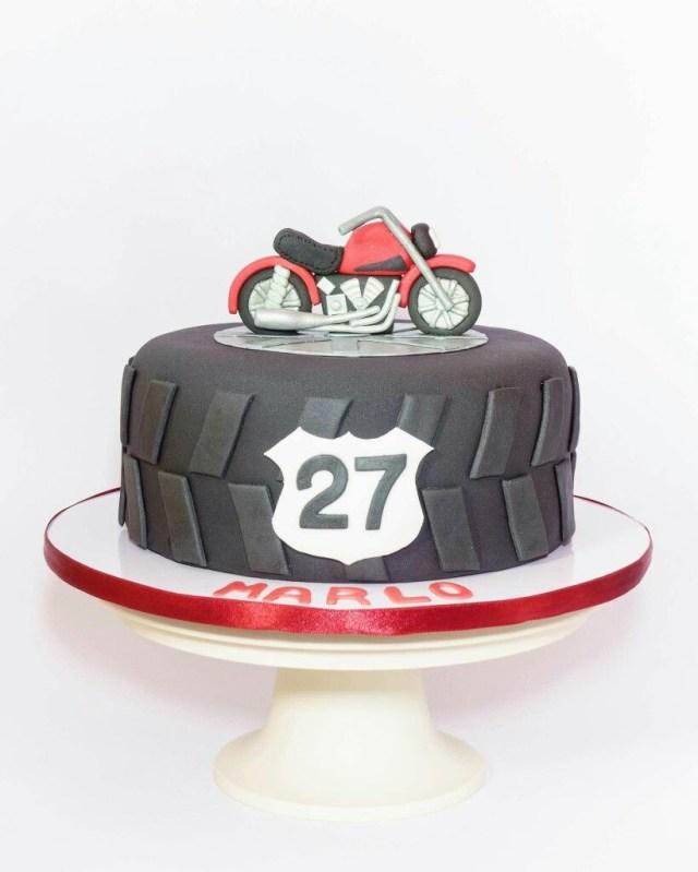 Motorcycle Birthday Cakes Motorcycle Birthday Cake 30th Party Theme Pinte