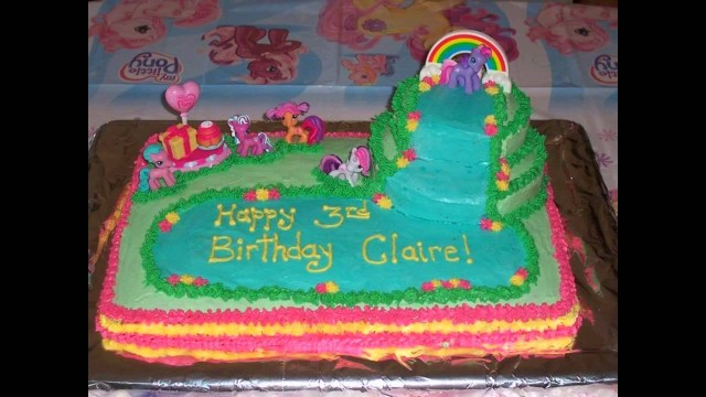 My Little Pony Birthday Cake Ideas My Little Pony Birthday Cake Decorations Ideas Youtube