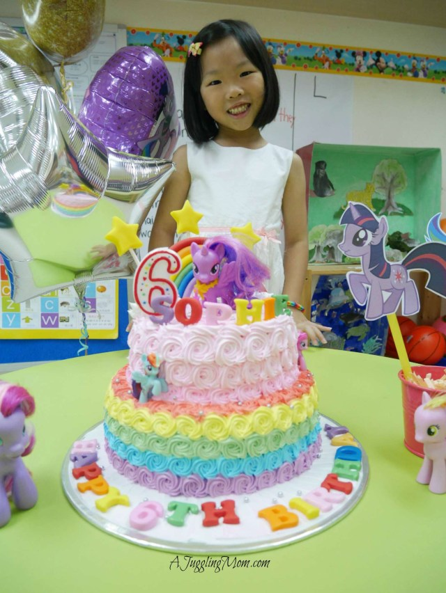 My Little Pony Birthday Cake Ideas Sophie Turns 6 My Little Pony Birthday Party Friendship Is Magic