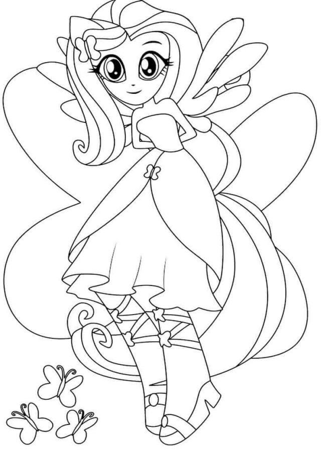 My Little Pony Equestria Girl Coloring Pages 15 Printable My Little Pony Equestria Girls Coloring Pages