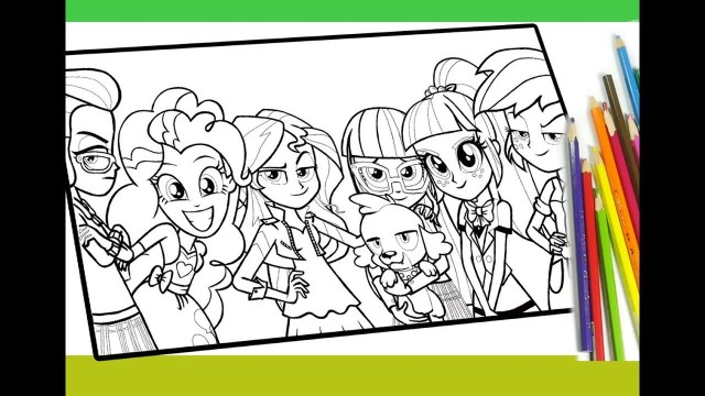 My Little Pony Equestria Girl Coloring Pages My Little Pony Equestria Girls Coloring Pages My Little Pony