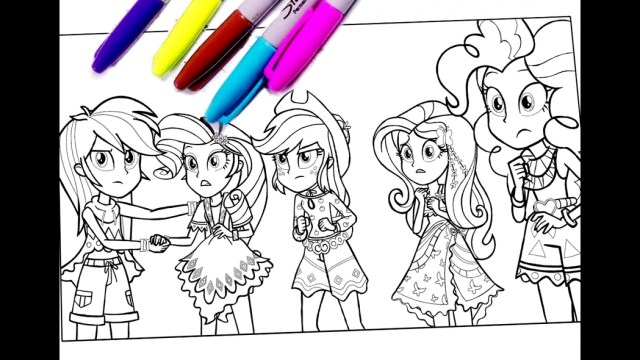 My Little Pony Equestria Girl Coloring Pages Unique My Little Pony Equestria Girls Coloring Pages
