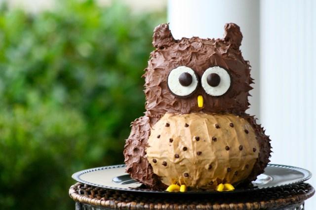 Owl Birthday Cake Owl Birthday Cakes
