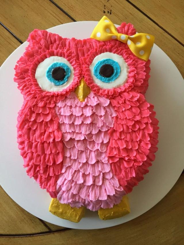 Owl Birthday Cake Pin Hester On Size Of Owl Cake Pinterest Cake Owl Cakes And