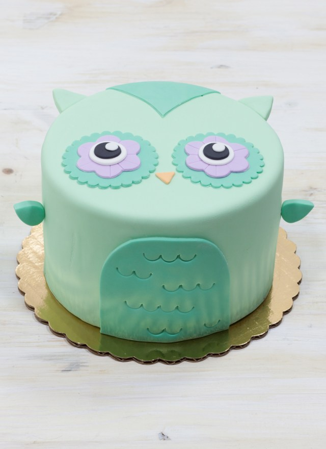 Owl Birthday Cakes Olivia The Owl Cake Whipped Bakeshop